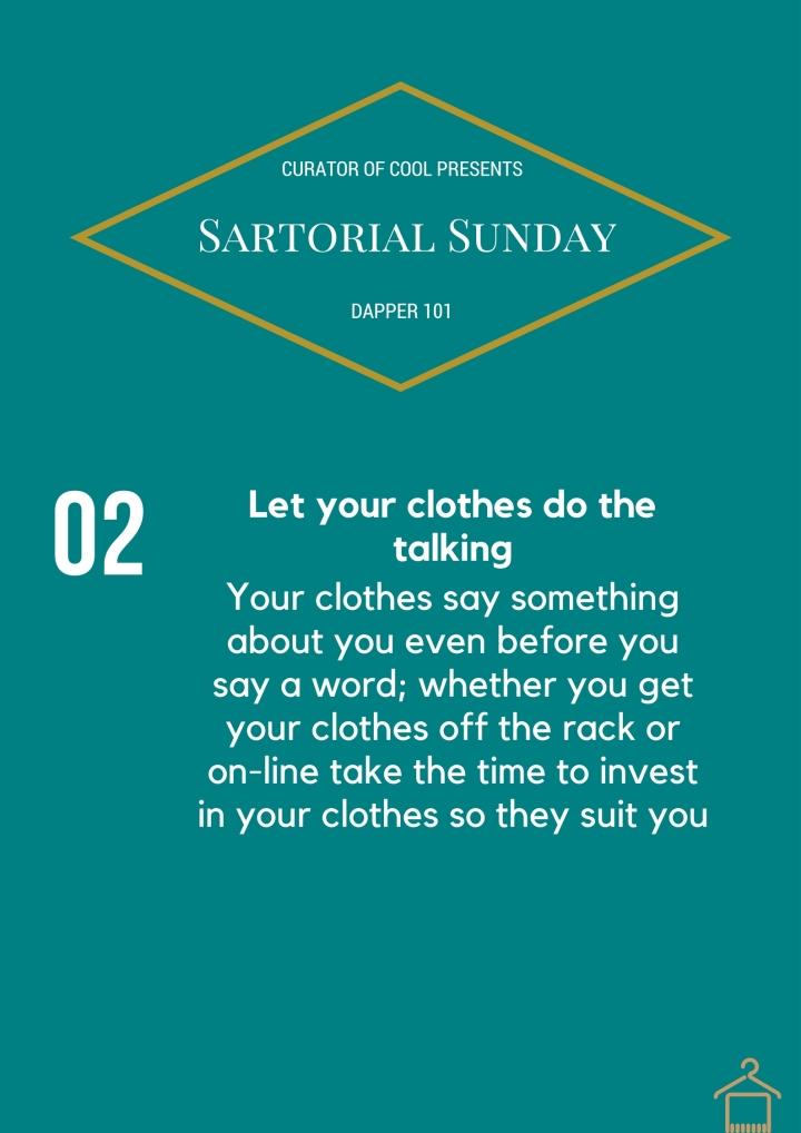 Copy of Sartorial Sunday