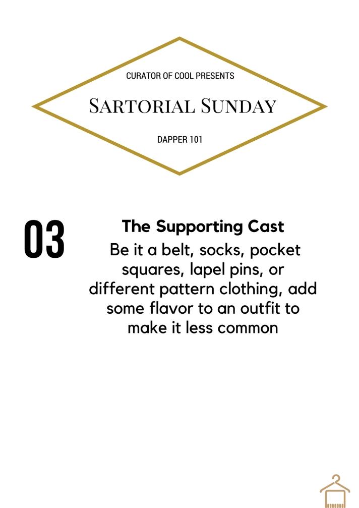 Sartorial Sunday 3