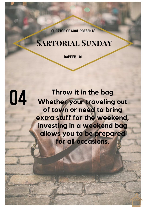 Sartorial Sunday 4