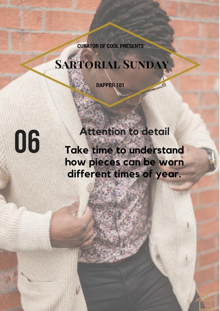 Sartorial Sunday 6